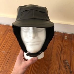 Vintage Leather Hat
